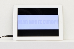 Dear White Europe by Teju Adisa-Farrar & Hanna Mikosch. Photo: I Do Art Agency.