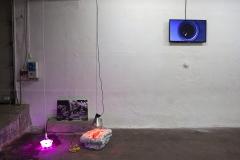 Installationview-Anne-Dyhr-og-Luna-Scales-OK-Corral-2019