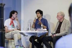 Opbrud - Tværnordisk Poesifestival på LiteraturHaus 2021. Photo: I DO ART Agency.
